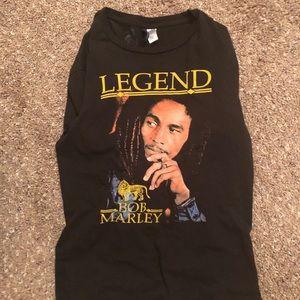 Bob Marley homage T-shirt